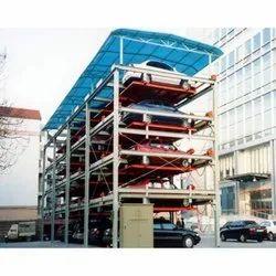 基于低碳钢PLC的多级停车系统,自动化等级:自动,440v