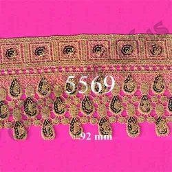 Designer and Fancy Gold Zari Lace