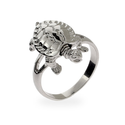 Silver Turtle Ring