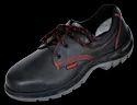 En Black Karam Safety Shoes Fs 01, For Industrial, Sole Type: Pu