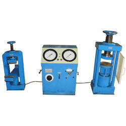 Electrically Cum Manually Compression Testing Machine