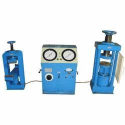 Electrically Cum Manually Compression Testing Machine