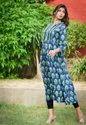 Cotton Dabu Printed Designer Kurti