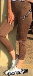 Ladies Chex Pants
