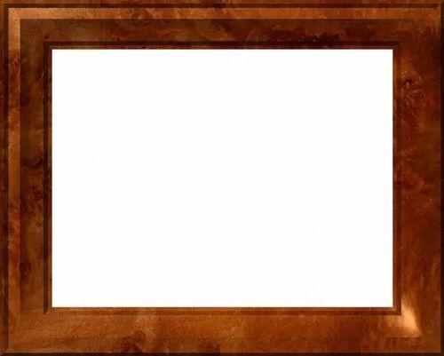 Brown Hard Wood Wooden Rectangular