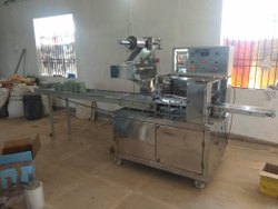 Horizontal Flow Wrapping Machine for Bun Packing