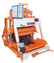 Movable Type Solid Brick Making Machine