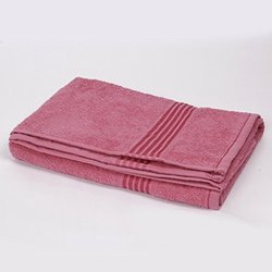 Red and Pink Color Bath Towels