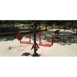 Leg Press Outdoor Gym Machine
