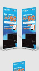 Promotional Standee Advertising Service, for Advertisement