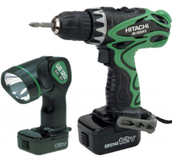 Hitachi DS 12DVF3 - 12V 12mm Cordless Drill with Carry Case, Warranty: 6 months