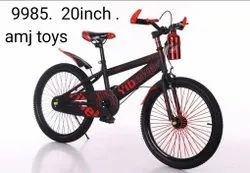 Red Steel Kids Bicycle, Size: 20inch