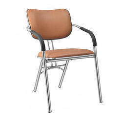 SPS-263 Leather Visitor Chair