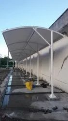 Walk Way Fabric Structure
