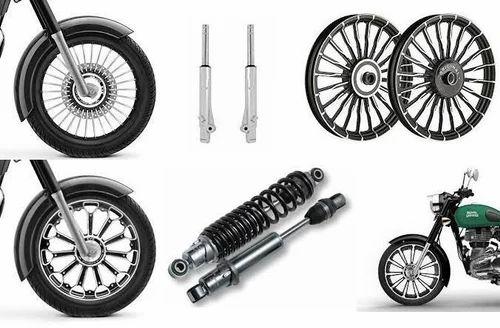 Royal Enfield Bikes Wheel Suspension Part