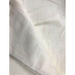 Off White Moss Crepe Fabric