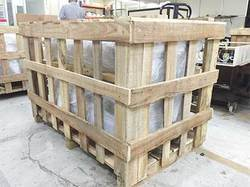 Rubber Wooden Packaging Crates