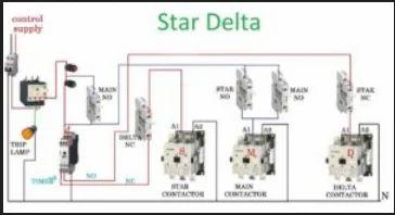 star-delta motor starter
