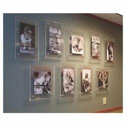 Acrylic Rectangular Wall Frames