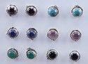925 Sterling Silver Small Stud Earrings