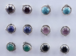 925 Sterling Silver Small Stud Earrings