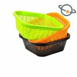Plastic Basket, Design/Pattern: Regular, Polished