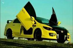 Yellow Car Modification