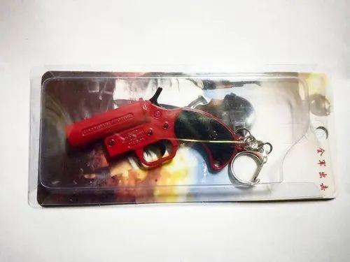 Flare Gun Keychain