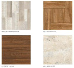 Wood Finish Floor Tiles