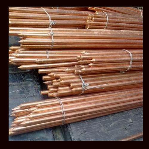 Copper Earthing Electrode For Electrical Utility Copper