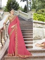 Heavy Designer Embroidery Saree