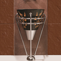 Glass, Ceramic Simpolo Silo Big Hand Crafted Wash Basin