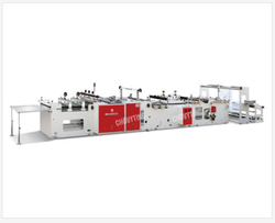 Plastic Rice Handle Bag Making Machine