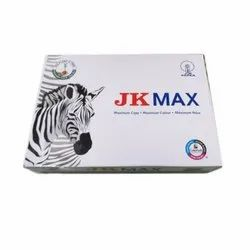 JK Max White Easy Copier Paper, Size: A4