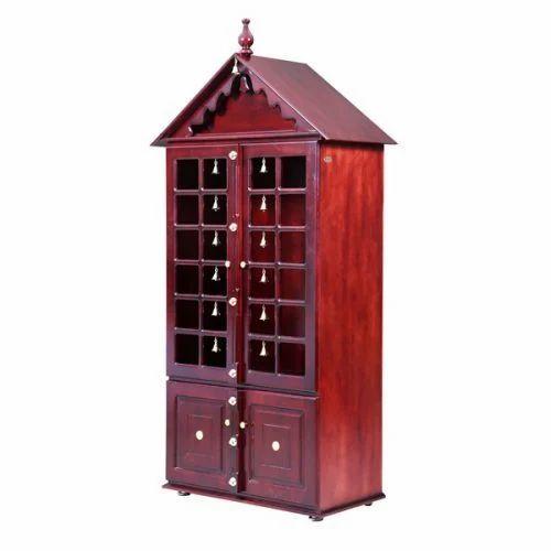 Pooja Stand Designs With Price : Wooden pooja stand at rs piece basaweshwara nagar
