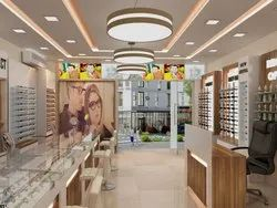 Complete Spectacles Showroom Design Solution - New