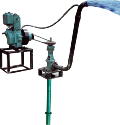 Borehole Lineshaft Water Pump Driven By Diesel Engine