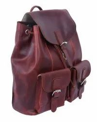 Leather BackPack Exporter India