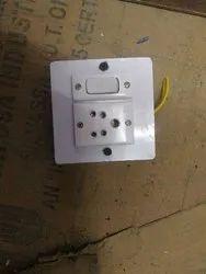 kunj Wooden Switch Board, Module Size: 4*4, 1
