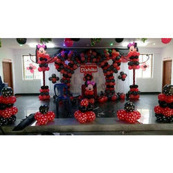 Food and Decoration Theme Birthday Party Event Service