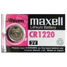 MAXELL CR 1220 Batteries