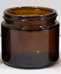 60 gm Amber Glass Jars