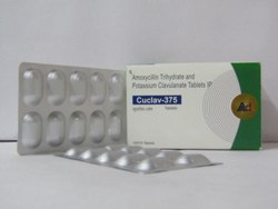 Cuclav-375  Amoxycillin Trihydrate And Potassium Clavulanate