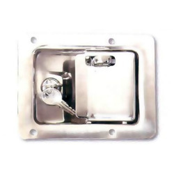 SS Slam Lock with Pad Lock