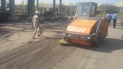Automatic Ride On Road Sweeping Machine