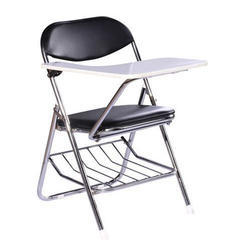 Folding Student Chair with Writing Pad