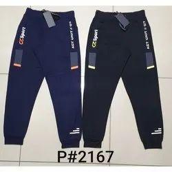 Chill Zone Blue, Black Mens Cotton Pajama, Size: S-XXL