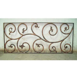 Simple Cast Iron Railing