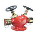 Landing Valve Double Outlet