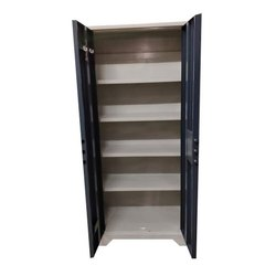 Color Coated Storewell Steel Cupboard, No. Of Shelves: 4 Shelves, Size/Dimension: 77x34x17 Inch